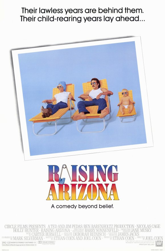 ChuckyG's Rewatchable Movies - 1987 Raising Arizona Full Movie