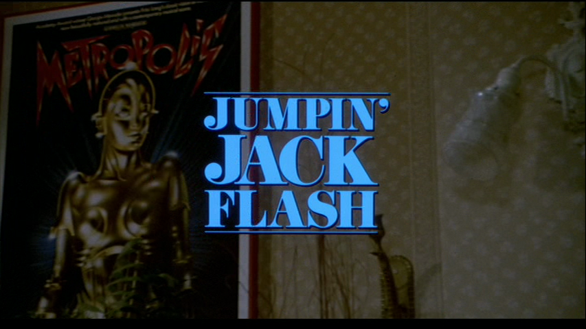 Jumpin Jack Flash 1986 Jumpin' Jack Flash Movie